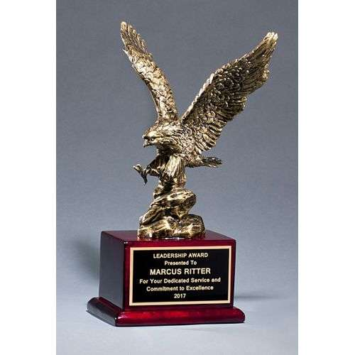 "15"" Antique Bronze Eagle"