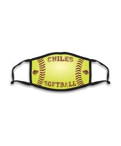 Design: Softball Chiles HS Custom Masks