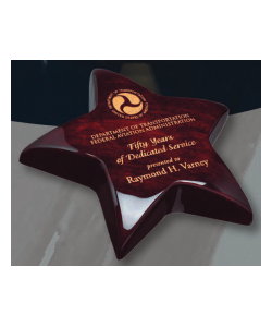 "5"" Star Paperweight"