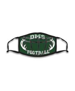 Design: Football Deerlake Custom Masks
