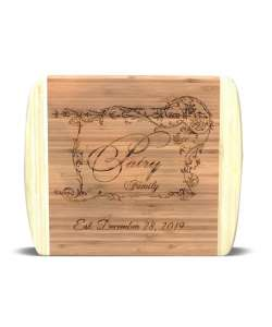 "13.5""x11.5"" Personalized Bamboo Cutting Board"