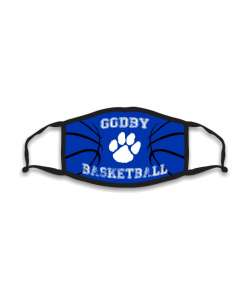 Design: Basketball Godby HS Custom Masks