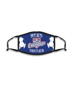 Design: Soccer HCES Custom Masks