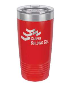 Color: Red 20oz Laser Etched Tumbler (Color options available)