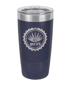 Color: Navy 20oz Laser Etched Tumbler (Color options available)