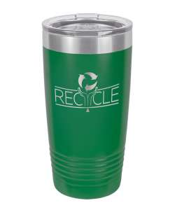 Color: Green 20oz Laser Etched Tumbler (Color options available)