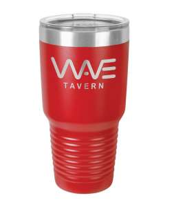 Color: Red 30oz Laser Etched Tumbler (Color options available)