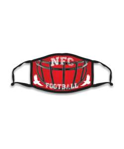 Design: Football NFC Custom Masks