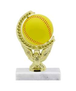"6.5"" Softball Squeeze Ball Trophy"