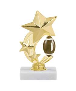 "6"" Football Star Trophy"