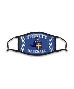 Design: Baseball Trinity Catholic Custom Masks